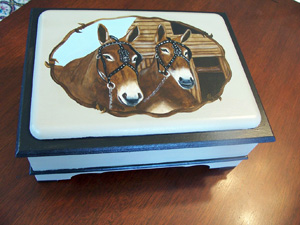 Mule Painting for the SDP